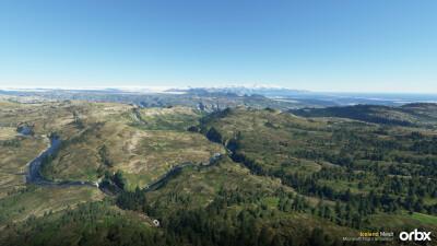Iceland Mesh - Microsoft Flight Simulator screenshot