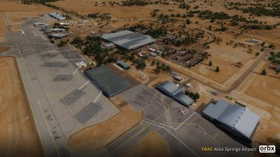 YBAS Alice Springs Airport screenshot