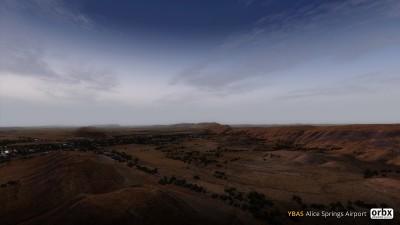YBAS Alice Springs Airport screenshot