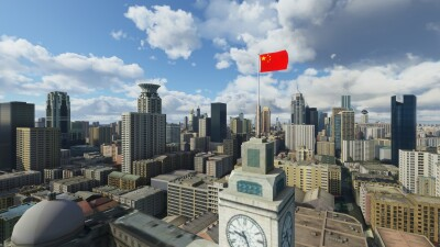 SamScene3D Shanghai City Times screenshot