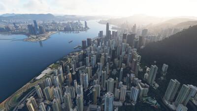 SamScene3D Hong Kong City Times screenshot