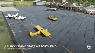 KBID Block Island State Airport - Microsoft Flight Simulator screenshot