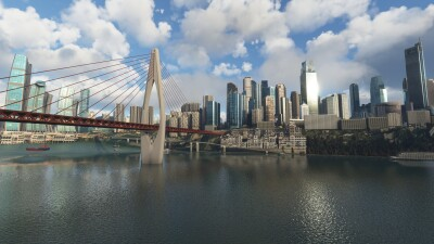 SamScene3D Chongqing Magic City 8D screenshot