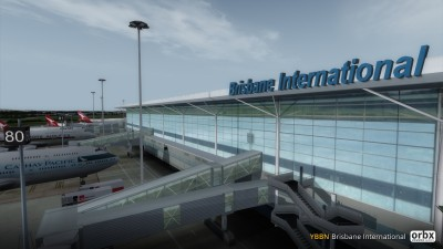 YBBN Brisbane International Airport screenshot