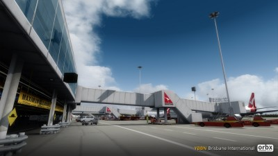 YBBN Brisbane International Airport screenshot