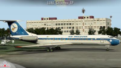 LUKK Chisinau International Airport - X-Plane 11 screenshot