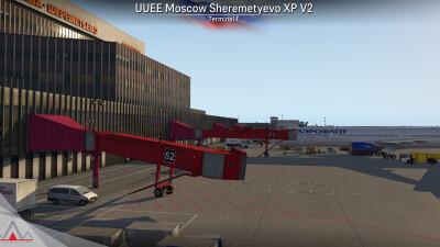 UUEE Moscow Sheremetyevo Airport - X-Plane 11 screenshot