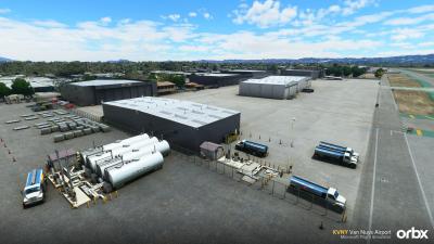 KVNY Van Nuys Airport - Microsoft Flight Simulator screenshot