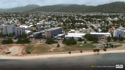 YBCS Cairns Airport screenshot
