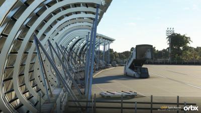 LDSP Split Airport - Microsoft Flight Simulator screenshot