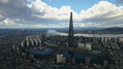 SamScene3D Seoul City Wow screenshot