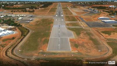 YBRM Broome International Airport screenshot