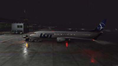 EPKK John Paul II International Airport - Microsoft Flight Simulator screenshot