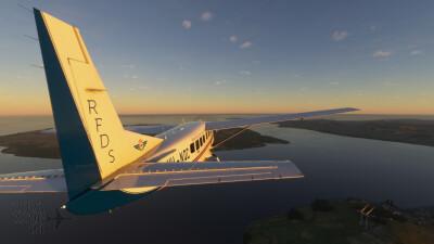 Novawing24 Cessna 208B RFDS VH-NQC Livery screenshot