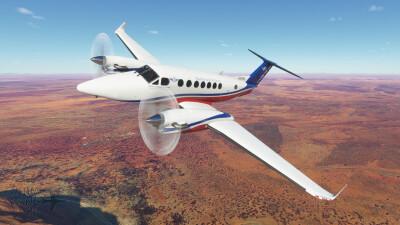 Novawing24 Beechcraft King Air 350i RFDS VH-VPQ 2021 Livery screenshot