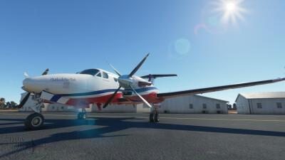 Novawing24 Beechcraft King Air 350i RFDS VH-VPX 2021 Livery screenshot