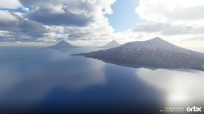 NA Alaska Mesh - Microsoft Flight Simulator screenshot