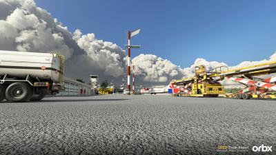 LDZD Zadar Airport - Microsoft Flight Simulator screenshot