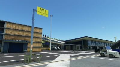 LPPD Ponta Delgada João Paulo II Airport - Microsoft Flight Simulator screenshot
