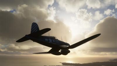 Milviz FG-1D Corsair screenshot