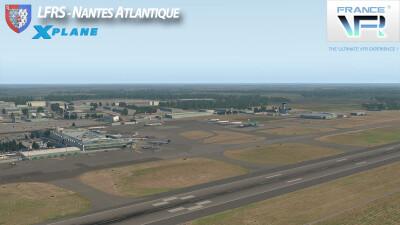 LFRS Nantes Atlantique Airport - X-Plane 11 screenshot