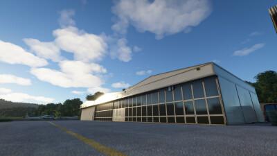 LSZN Hausen am Albis Airport - Microsoft Flight Simulator screenshot