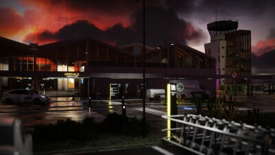 NZNS Nelson Airport - Microsoft Flight Simulator screenshot