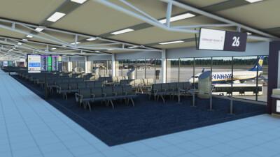 EGPH Edinburgh Airport - Microsoft Flight Simulator screenshot