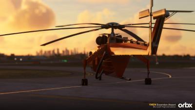 YMEN Essendon Airport - Microsoft Flight Simulator screenshot