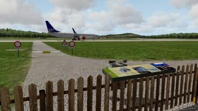 LSZH Zurich Airport - X-Plane 11 screenshot