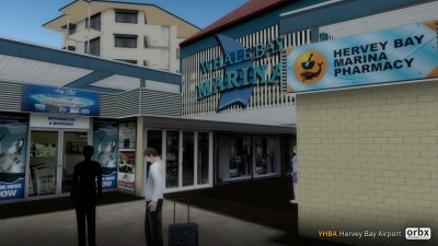 YHBA Hervey Bay Airport screenshot