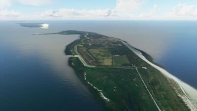 Aerosoft East Frisian Islands - Microsoft Flight Simulator screenshot