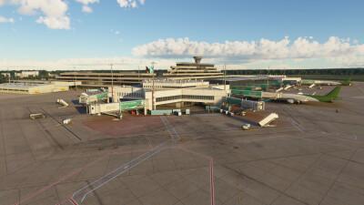 EDDK Cologne Bonn Airport - Microsoft Flight Simulator screenshot