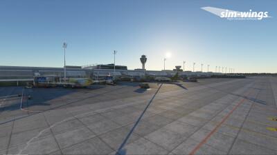 EDDM Munich Airport - Microsoft Flight Simulator screenshot