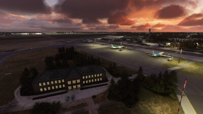 EDDB Berlin Brandenburg Airport - Microsoft Flight Simulator screenshot