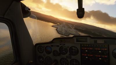 ENVA Trondheim Airport - Microsoft Flight Simulator screenshot