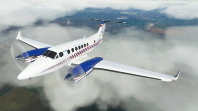 Novawing24 Beechcraft King Air 350i RFDS VH-MQK 2021 Livery screenshot