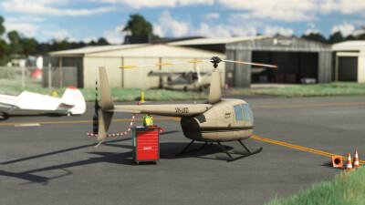 YBNA Ballina Byron Gateway Airport - Microsoft Flight Simulator screenshot