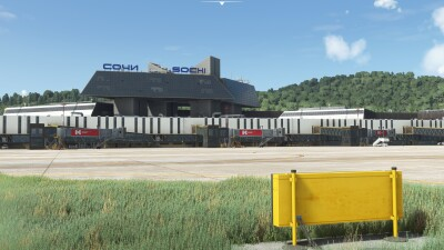 URSS Sochi International Airport - Microsoft Flight Simulator screenshot