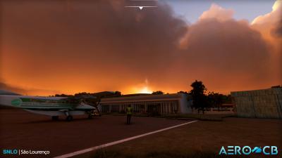 SNLO São Lourenço Airport - Microsoft Flight Simulator screenshot