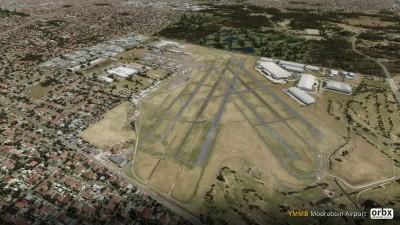 YMMB Moorabbin Airport screenshot