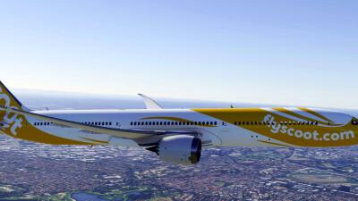 B787 Liveries Pack (Asia Pacific) - Microsoft Flight Simulator screenshot