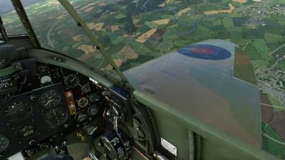 Mk1A Supermarine Spitfire - Microsoft Flight Simulator screenshot