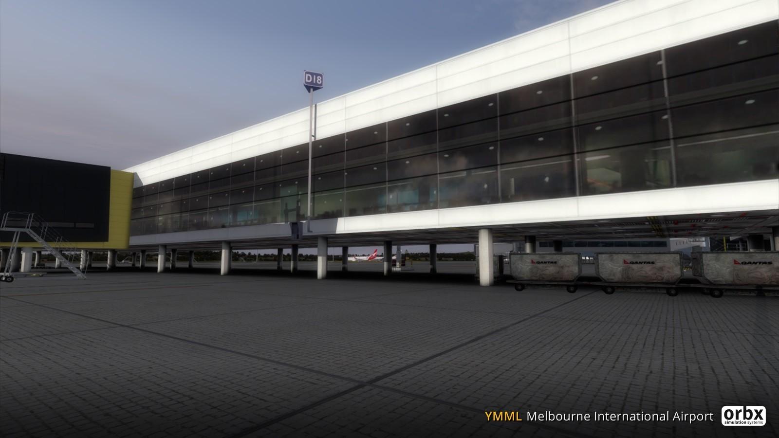 YMML Melbourne International Airport V3