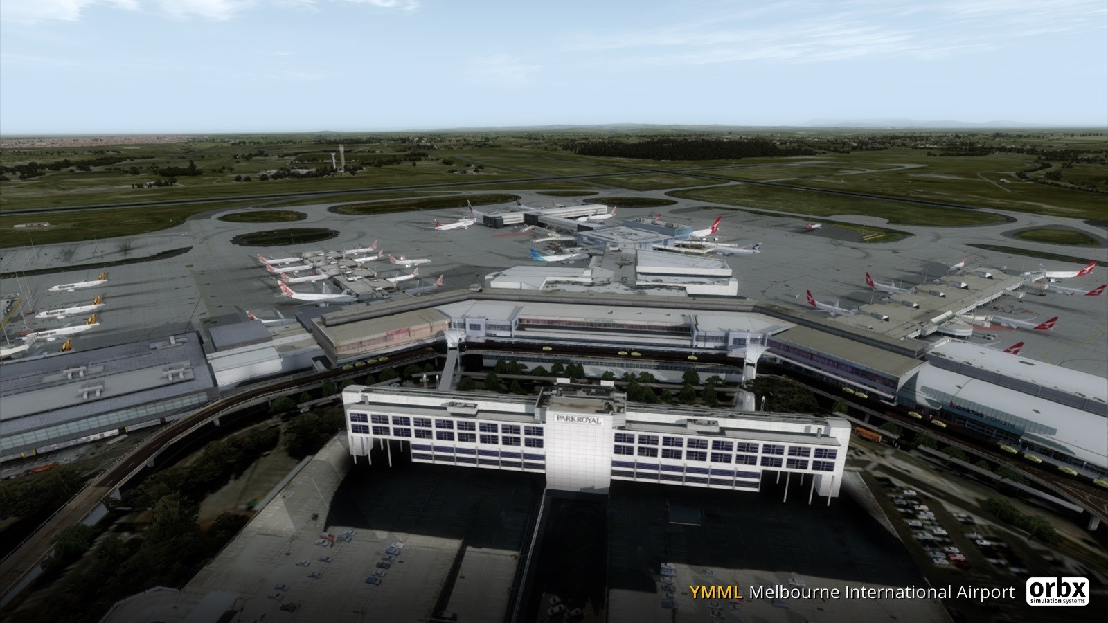 YMML Melbourne International Airport V3