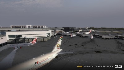 YMML Melbourne International Airport V3 screenshot