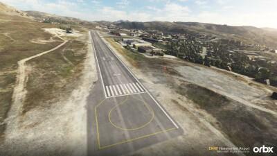ENHF Hammerfest Airport - Microsoft Flight Simulator screenshot