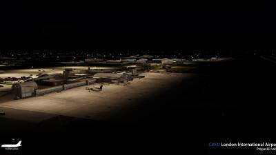 CYXU London International Airport screenshot