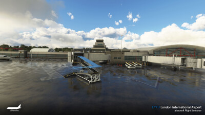CYXU London International Airport - Microsoft Flight Simulator screenshot