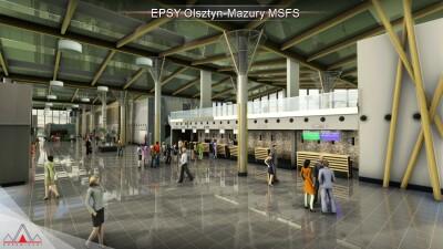 EPSY Olsztyn-Mazury Airport - Microsoft Flight Simulator screenshot
